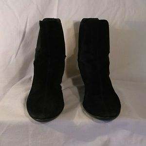 Colr Haan Shoes - Cole Haan Black Suede Nike Air Boots